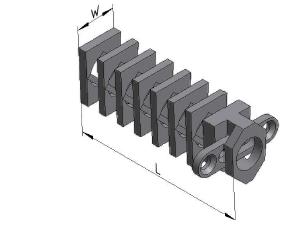 Kostka TTA z możliwością docinania długości